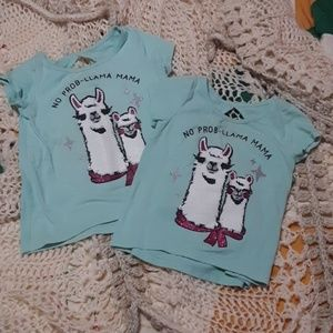 Other - 6 for 20 sale Matching sister shirts 2t and 3t